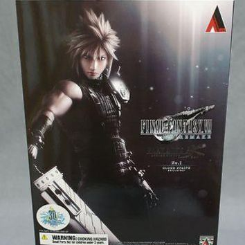 Square Enix Final Fantasy 7 VII Remake Cloud Strife Play Arts Kai Action Figure