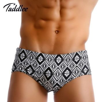 Taddlee Brand Men Swimwear Swimsuits Swim Bikini Briefs Sexy Mens Swimming Trunks Boxers Surf Boardshorts Beach Summer Suits