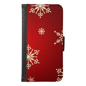 Christmas Samsung Galaxy S6 Wallet Case