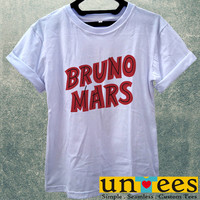 Bruno Mars Women T Shirt
