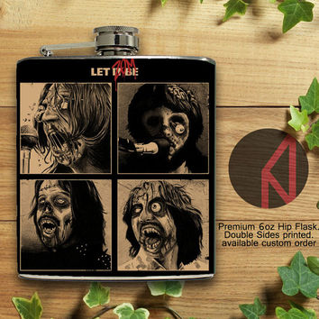 The Beatles 6oz Hip Flask