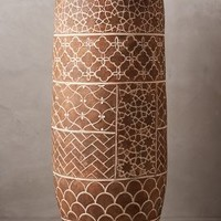 Bejana Vase by Anthropologie Dark Agra