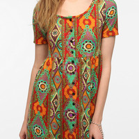 Urban Outfitters - Urban Renewal Short-Sleeved Babydoll Dress