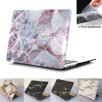 Marble Texture Case for apple macbook Air 13 11 Pro 13 12 15 Retina Protective Cover Skin Case sleeve notbook laptop bag case