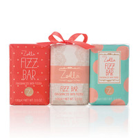 Zoella Beauty Mini Fizz Bar Fragranced Bath Fizzers Trio 3 x 100g