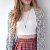 Thao Crop Top - White