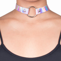 Holographic Unicorn Choker