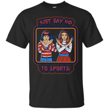 Just say no to sport tee shirt