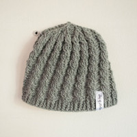 Crochet pattern - hat, weaved/braided