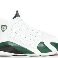 QIYIF AIR JORDAN RETRO 14 - FOREST GREEN