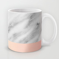 Real Italian Marble and Pink Mug by Cafelab
