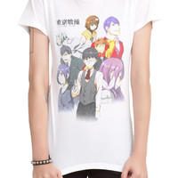Tokyo Ghoul Characters Girls T-Shirt