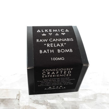 "100mg Cannabis ""Relax"" Bath Bomb"