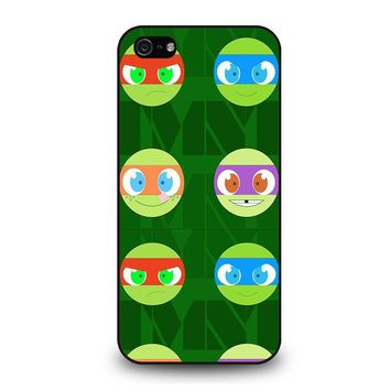 teenage mutant ninja turtles babies tmnt iphone 5 5s se case cover  number 1