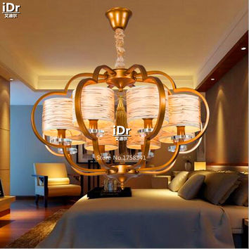 Southeast Asian Style Restaurant Living Room Lamp Creative Personality Simple Rustic Meal Lantern Chandeliers Olu-0134