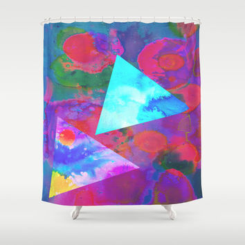 Acid Shower Curtain by DuckyB (Brandi)