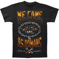 We Came As Romans Men's  King Of Silence T-shirt Black