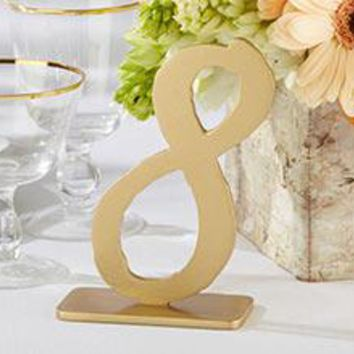 """""""Good As Gold"""" Classic Table Numbers (7-12)"""