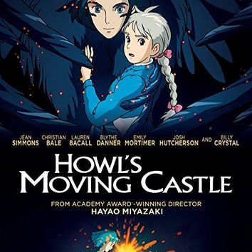 Christian Bale & Jean Simmons & Hayao Miyazaki-Howl's Moving Castle