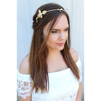 Avonlea Bridal Headband - Christine Elizabeth Jewelry