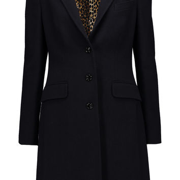 Wool-blend coat | Dolce & Gabbana | US | THE OUTNET