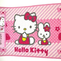 Hello Kitty Area/ Bathroom Mat Rug- Large