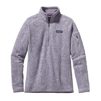 Patagonia Women's Better Sweater® Quarter Zip Fleece | Birch White