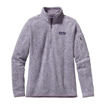Patagonia Women's Better Sweater® Quarter Zip Fleece | Tundra Purple