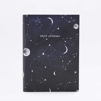 Constellation Print Daily Journal - Urban Outfitters