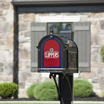 Los Angeles Clippers 8x5 Fan Logo Mailbox Decal
