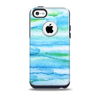 The Abstract Oil Painting Lines Skin for the iPhone 5c OtterBox Commuter Case