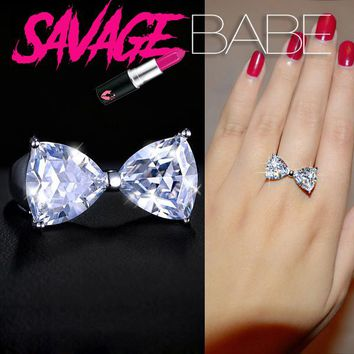 Beautiful Bow Shaped Ring