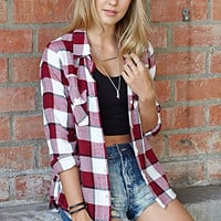 Rustic Plaid Shirt