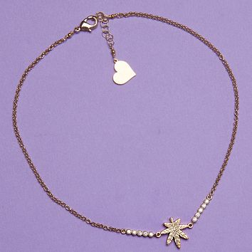 Diamond Mary Jane Choker