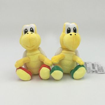 Super Mario party nes switch 16cm  Plush Toy Koopa Troopas Red Green Turtle Tortoise Stuffed Animal Doll for Children AT_80_8
