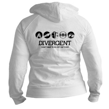 Divergent - Not Just One Thing Fitted Hoodie