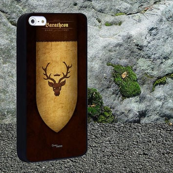 Game of Thrones Banners House Baratheon Case for iPhone 4/4s,iPhone 5/5s/5c,Samsung Galaxy S3/s4 plastic & Rubber case, iPhone Cover