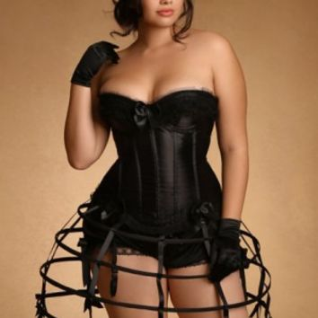 Plus Size Lingerie | Plus Size Costumes & Fantasy | Hoop Skirt | Hips & Curves