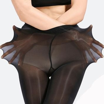 Super Elastic Prevent Hook Nylons Skinny Legs Sexy Pantyhose