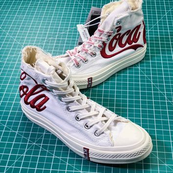 ce6a286b8162 Kith X Coca-cola X Converse Chuck Taylor All Star 1970s Sneakers