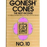 Gonesh No. 10 Incense Cones
