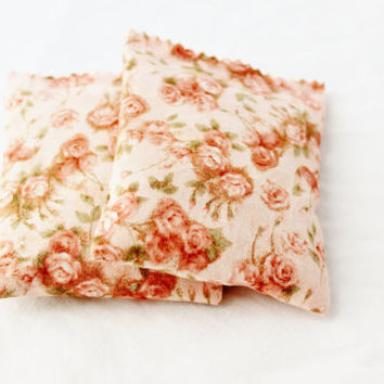 Rose Floral Lavender Sachets Pink Victorian Shabby by gardenmis