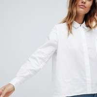 Tommy Hilfiger Heart on Sleeve White Shirt at asos.com