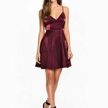 Cocktail Satin Dress, NLY One