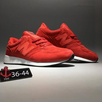 """New Balance 420"" Unisex Sport Casual N Words Sneakers Couple Fashion Running Shoes"