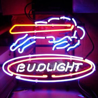 Bud Light Buffalo Bills NFL Sports Neon Sign Real Neon Light