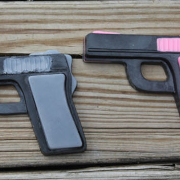 nerf party,police officer, party favors,police wedding,groomsmen gift,bridal shower favors, shower gifts, his and hers,gun soap,bachelorette