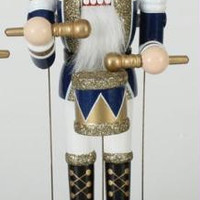 Christmas Nutcracker - Winds Up To Play Music And Move