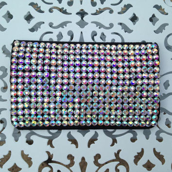 Rhinestone Birth Control Case - Birth Control - Pill Case - Pill Holder - Case - Rhinestone Case - Glitter Case