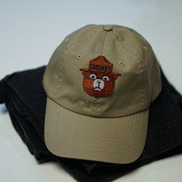 Smokey The Bear Dad Hat with Adjustable Strap